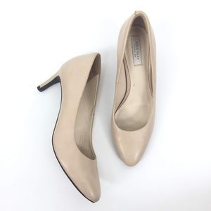 Cole Haan Size 5.5B Almond Toe Pumps